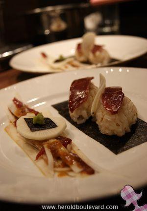 canard-radis-noir-facon-sushi